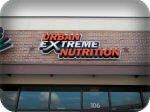 Urban Extreme Nutrition Channel Letters