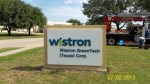 Wistron Monument Sign in McKinney, TX