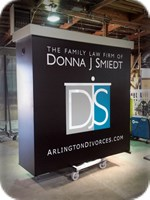 Donna Smiedt Routed Faced Lighted Monument Sign